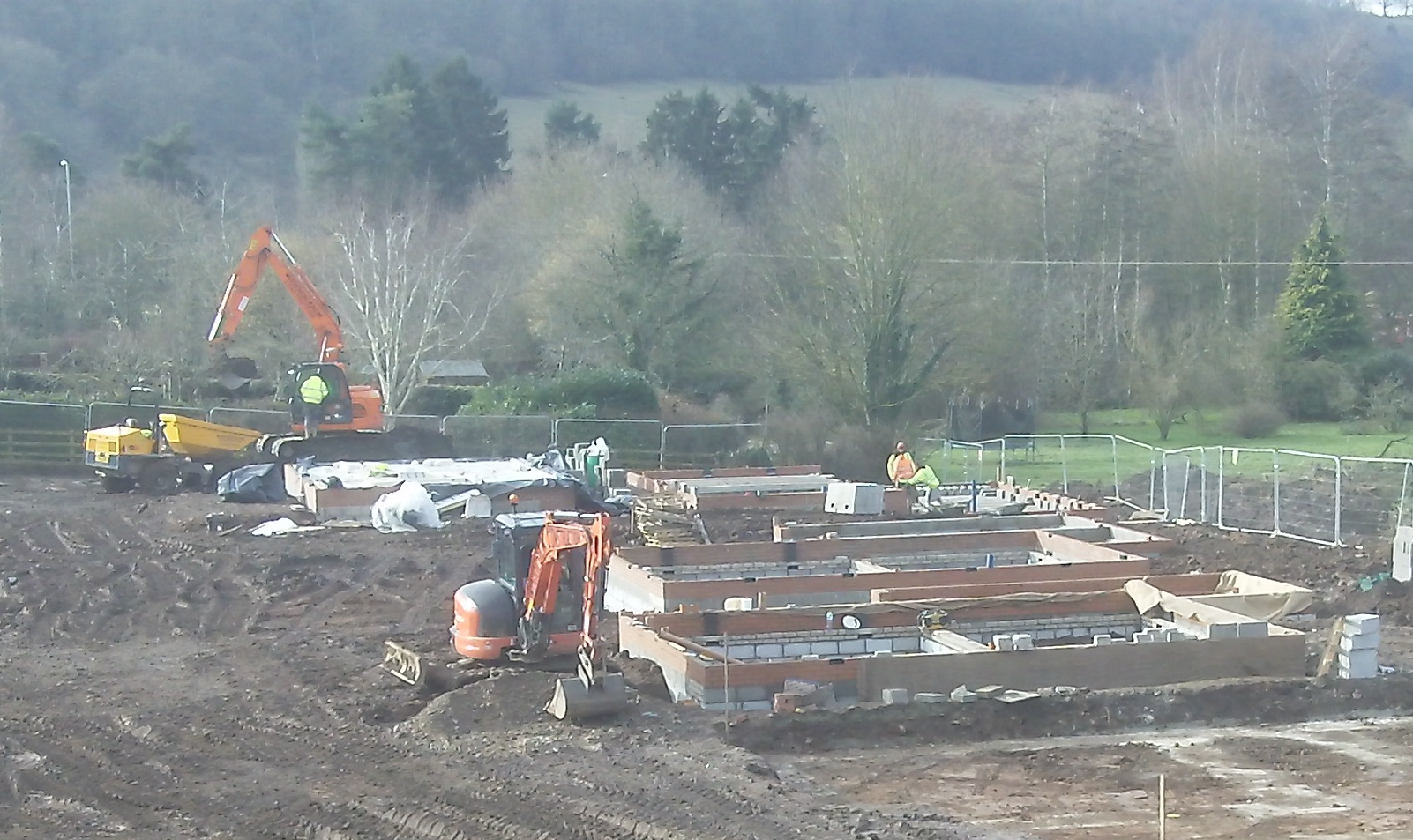 DBA Homes Morville Update - Site progress looking good!