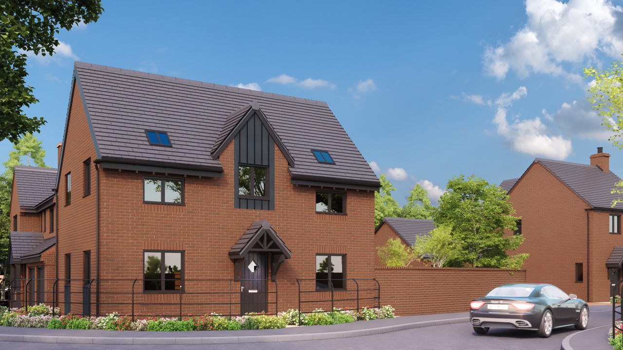 DBA Homes Morville Update - The Birch plot 3 is now reserved