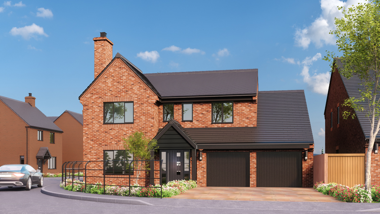 DBA Homes Morville Update - The Chestnut plot 13 is now reserved