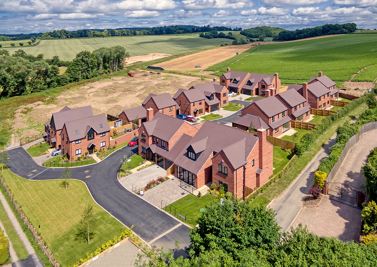 Last chance to buy a luxury home at Haughton Grange in Morville