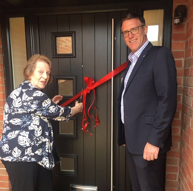 DBA Homes Opens Show Home with Local Parish Support