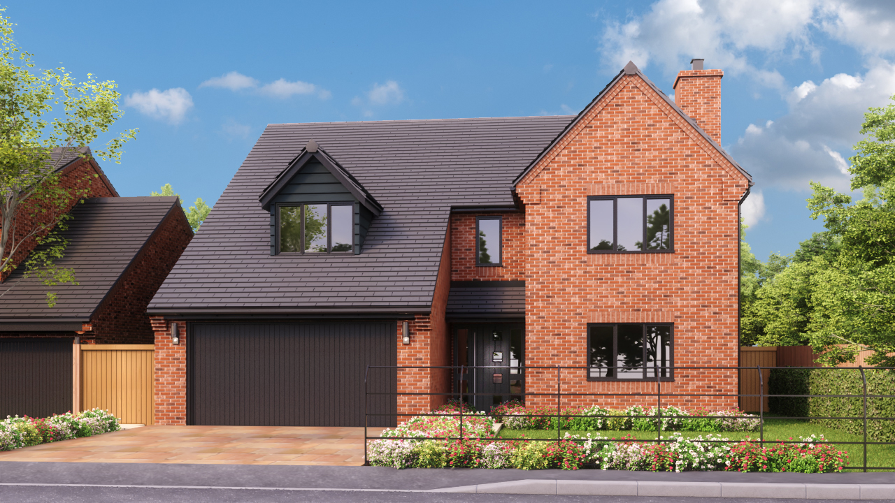 DBA Homes Morville Update - The Oak plot 7 is now reserved
