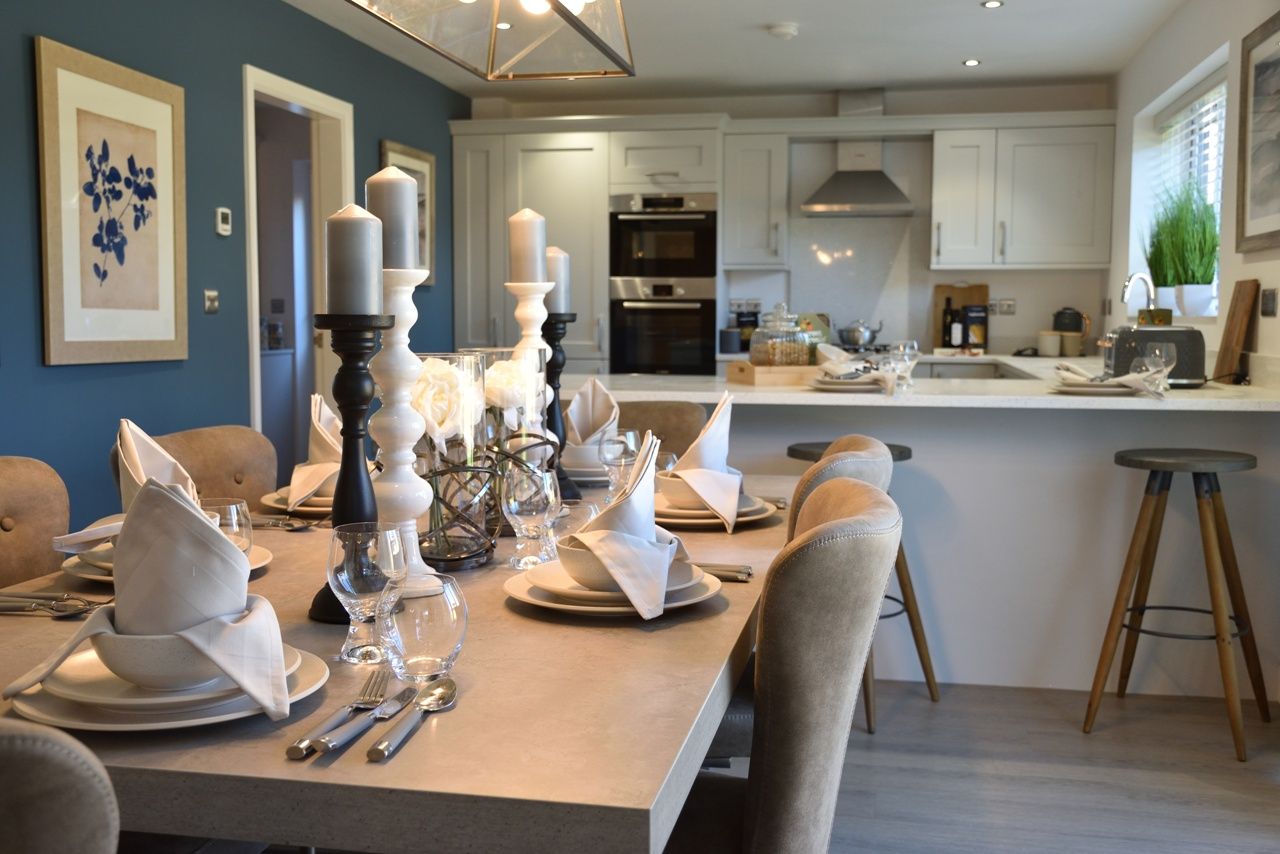 DBA Homes Morville Update - Our Show Home and Marketing Suite is offering you a very warm welcome!