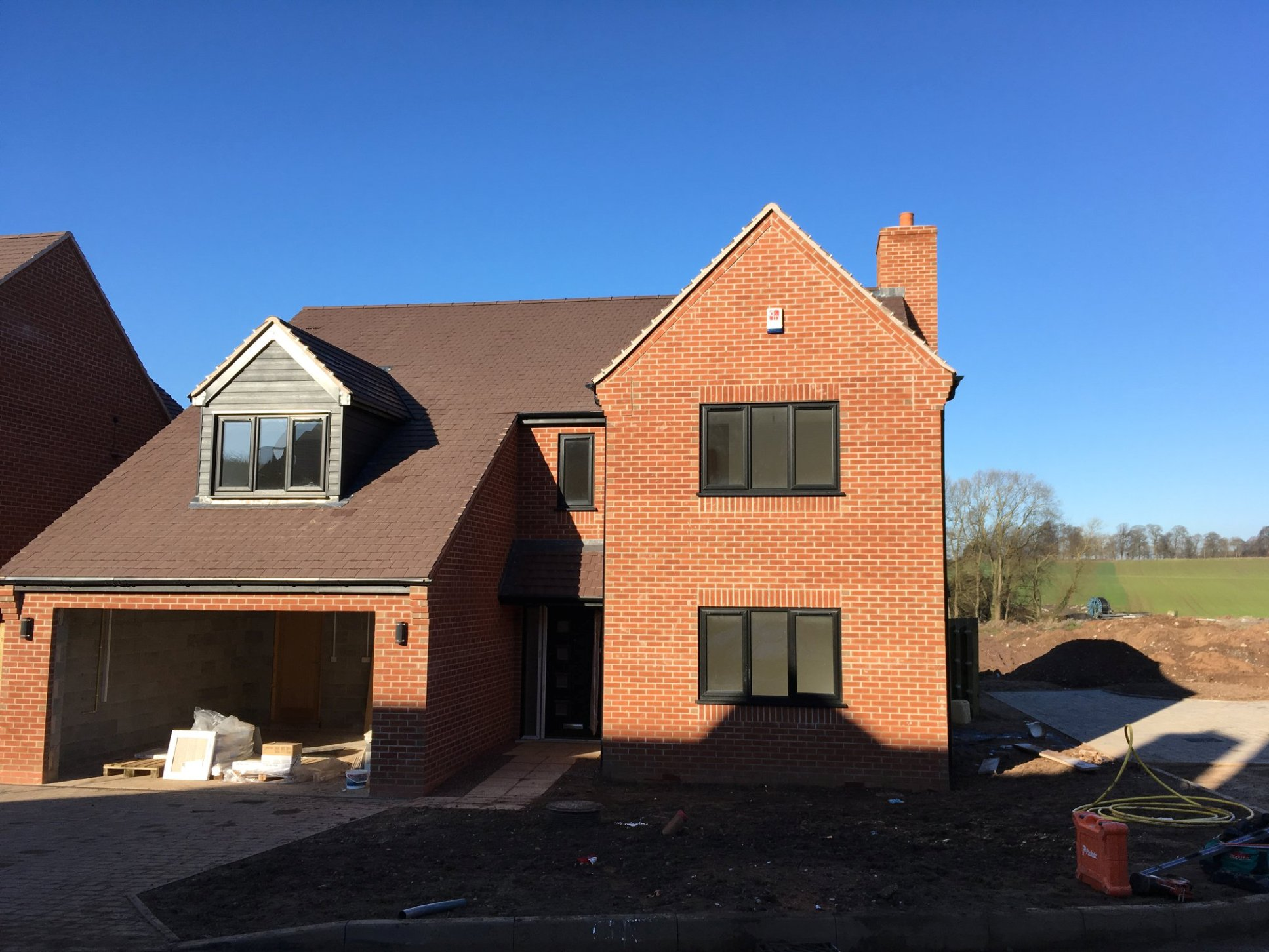 DBA Homes Morville Update - Plot 6 Stamp Duty paid for reservation in February!