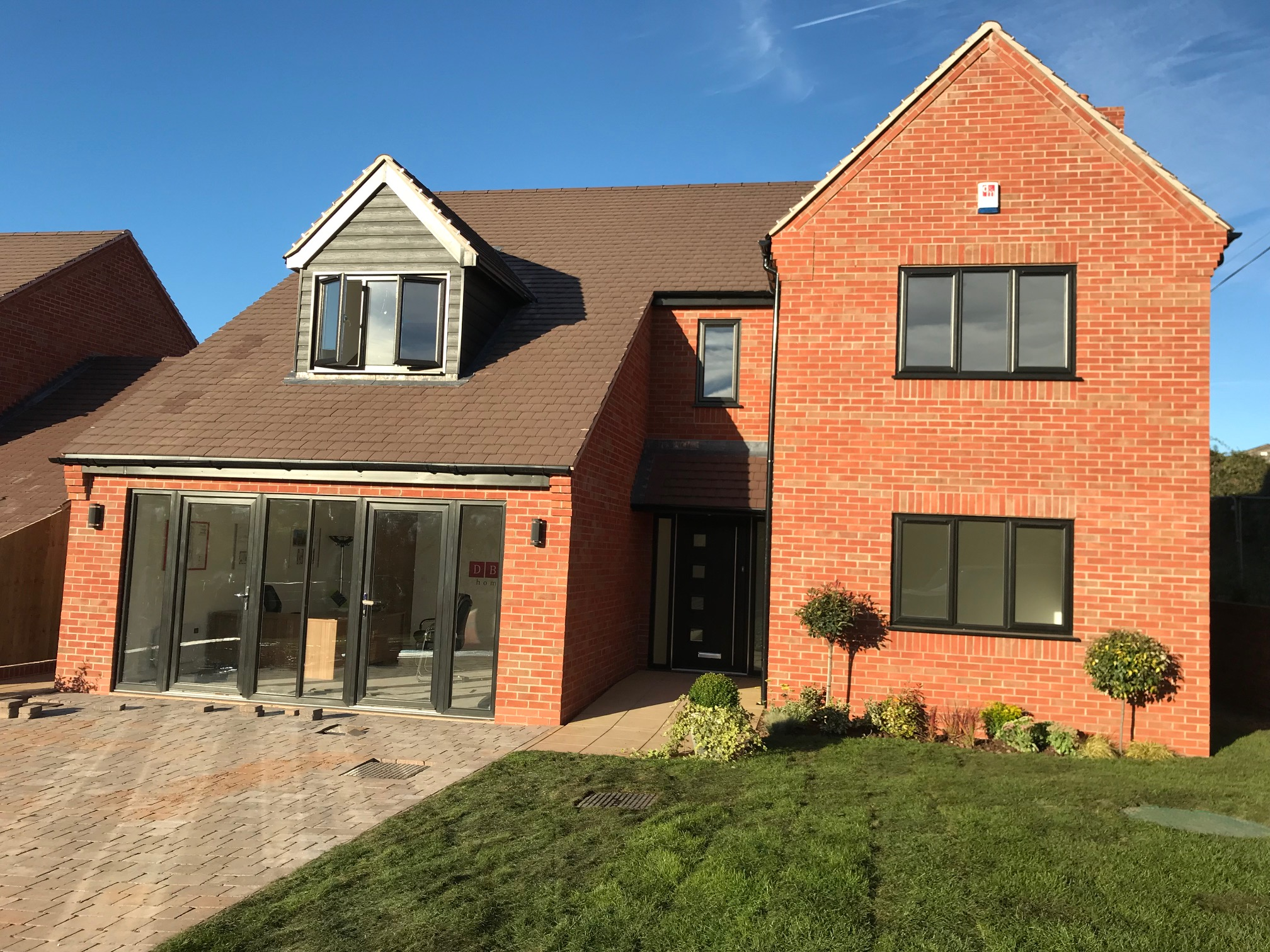 DBA Homes Morville Update - Our show home is almost ready to open at Haughton Grange, Morville.