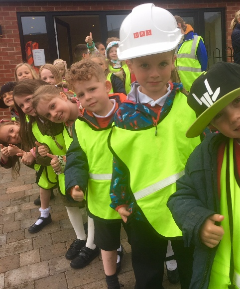 Shropshire pupils stretch their legs during Walk to School Week