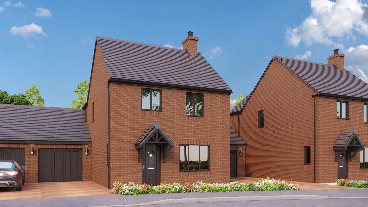 DBA Homes Morville Update - The Willow plot 4 is now reserved